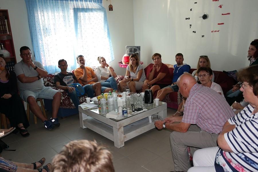 Επίσκεψη κλιμακίου από την Caritas/Irschenberg/Muenchen