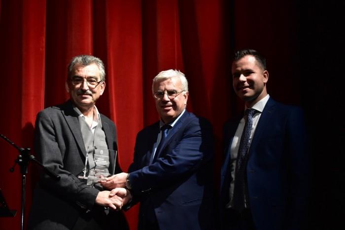 Απονομή τιμητικής διάκρισης από την Περιφέρεια Κεντρικής Μακεδονίας
