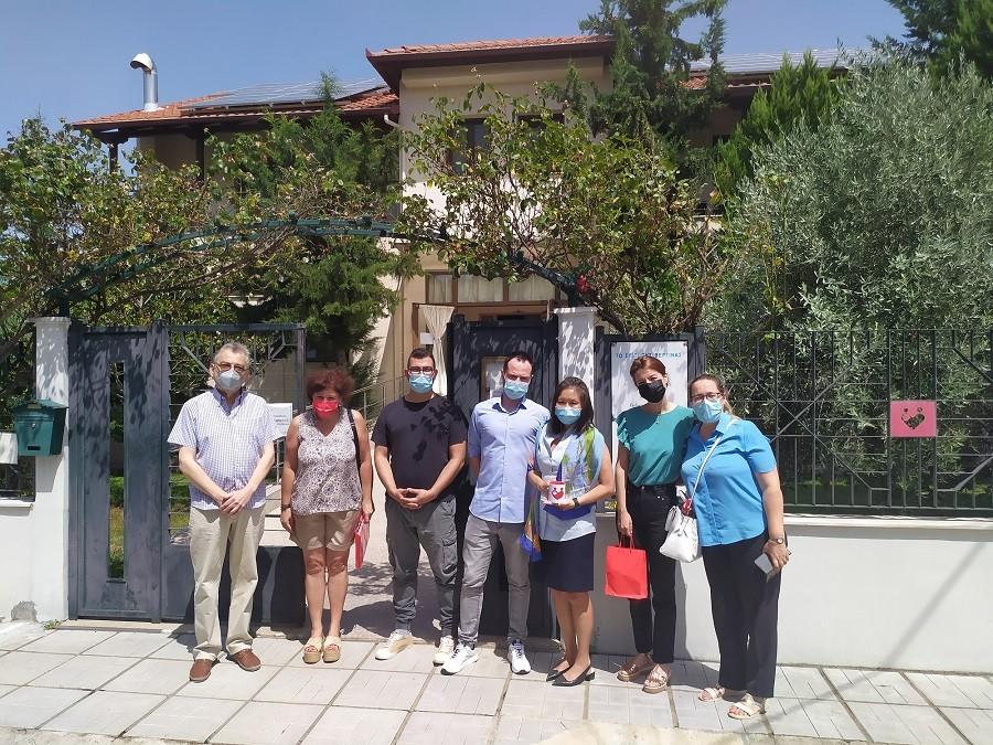 Επίσκεψη της Γενικής Προξένου των ΗΠΑ στο Σπίτι της Βεργίνας