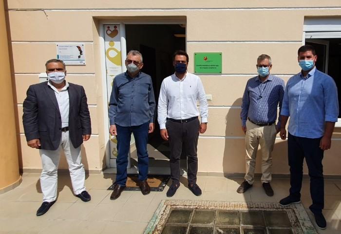 Επίσκεψη στο Κέντρο Ημερήσιας Φροντίδας του Βουλευτή κ. Τάσσου Μπαρτζώκα